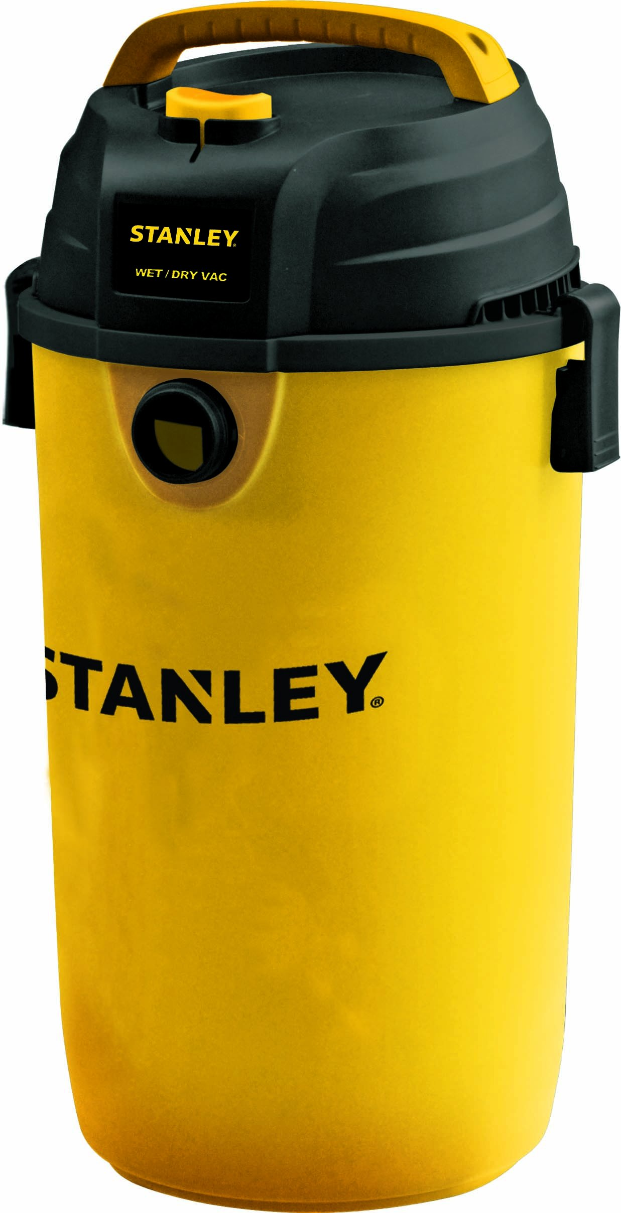 Stanley SL18139P Wet/Dry Hanging Vacuum, 4 Horsepower, 4.5 gallon, Yellow