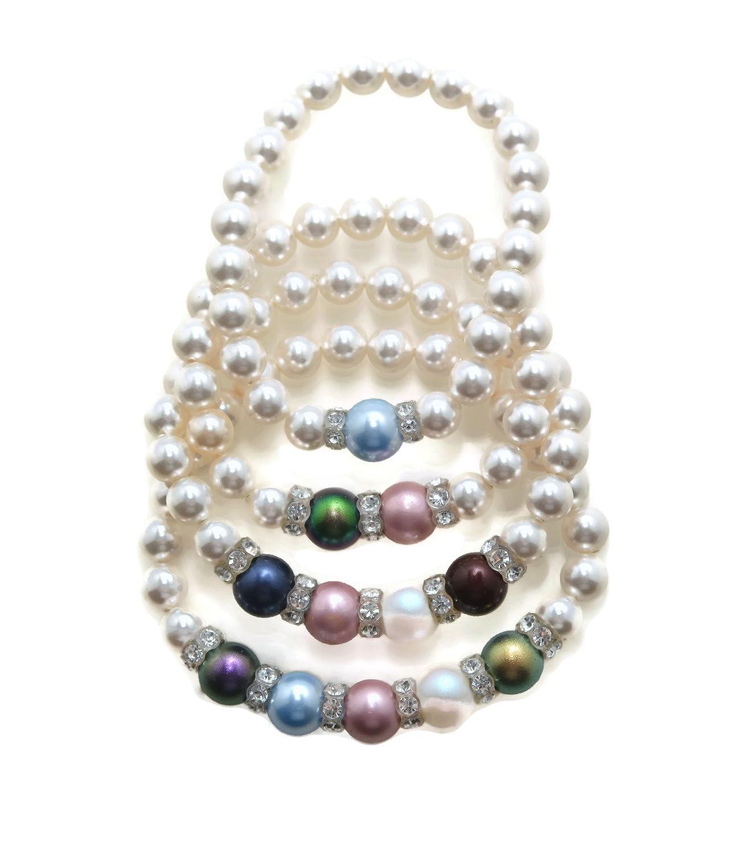 Motherhood pearl bracelet