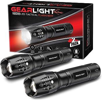 GearLight LED Flashlight S1000