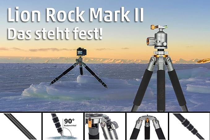 Rollei Lion Rock 30 Mark Ii Carbon Stativ Kamera