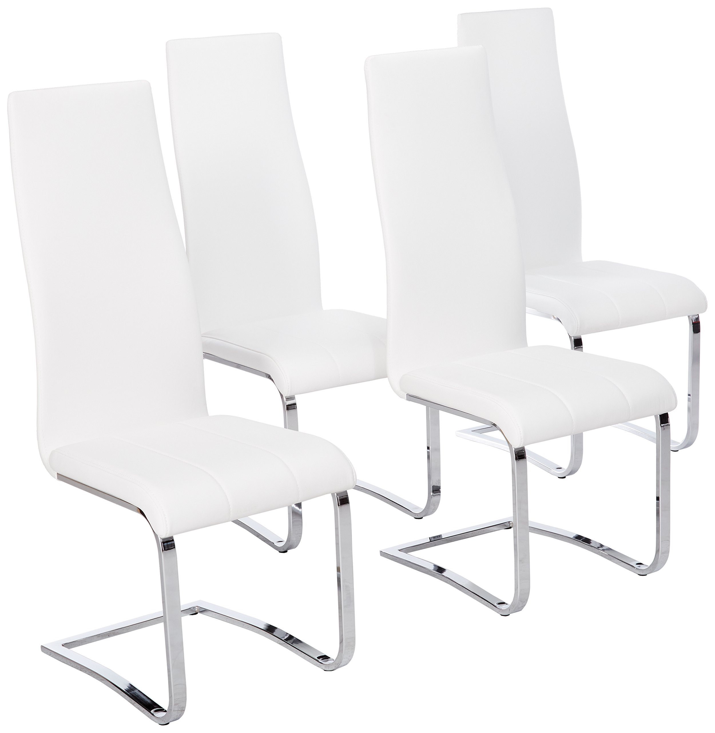 Coaster Home Furnishings Contemporary Counter Height Chair, White