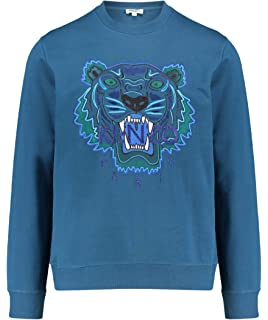 4585d7c9ba2 Kenzo Limited Edition Icon Tiger  Holiday Capsule  Duck Blue Sweatshirt
