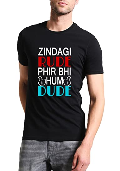 b21f1d22 Mott2 Unisex Cotton Rude But Dude Funny Desi Indian Quote Slogan ...