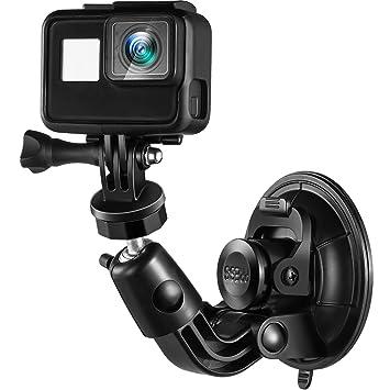 Frienda Soporte de Ventosa para Cámara Compatible con GoPro Hero 6/5/4/