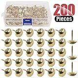 Hilitchi 200-Pieces 9/16'' (14mm) Antique