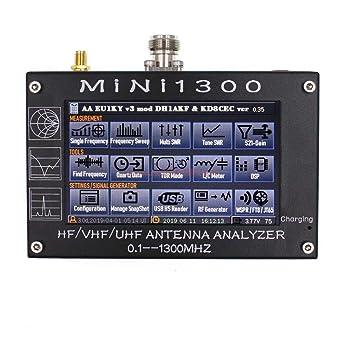 Analizador de antena gráfica a color MiNi 1300 de 4,3 ...