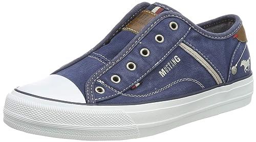 Mustang 1272-401-800, Zapatillas sin Cordones para Mujer: Amazon.es: Zapatos y complementos
