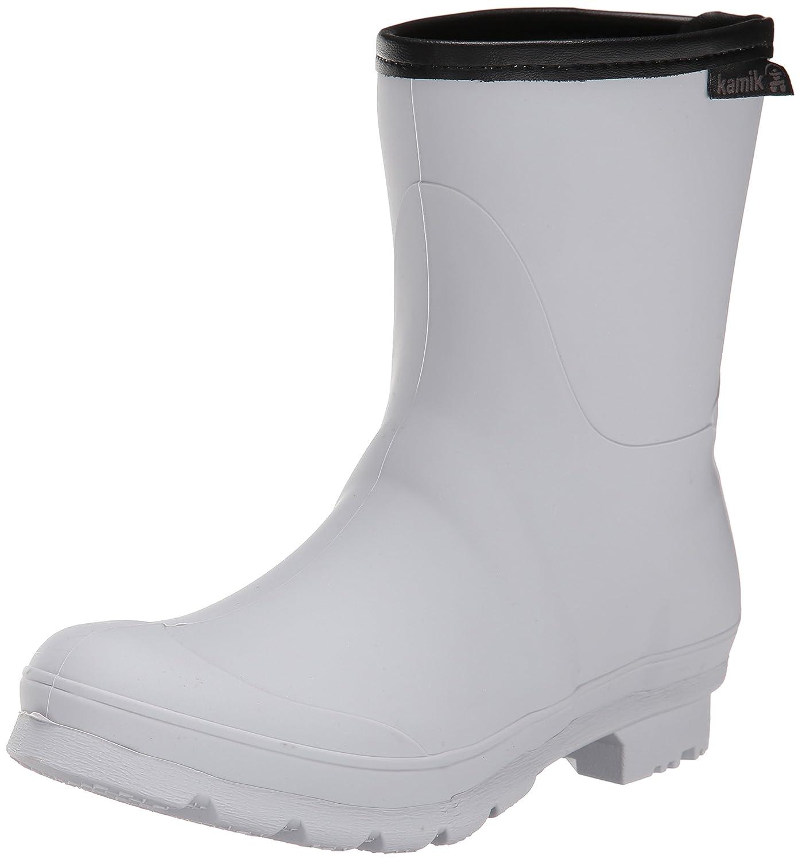 Kamik Women's Jenny Ankle Rain Boot B00M07D3NC 6 B(M) US|Light Grey