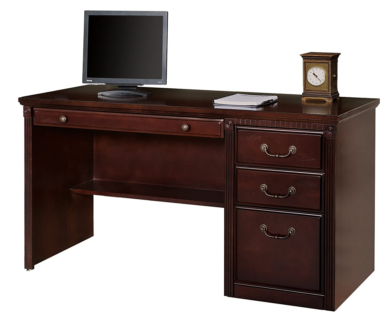Contemporary Office Double Pedestal Executive Desk