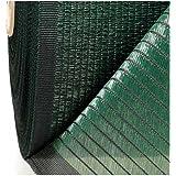 ELJQI - 50x1,5M Malla De Sombreo 90% Ocultacion-Ancho 1,50 Metros, Color Verde