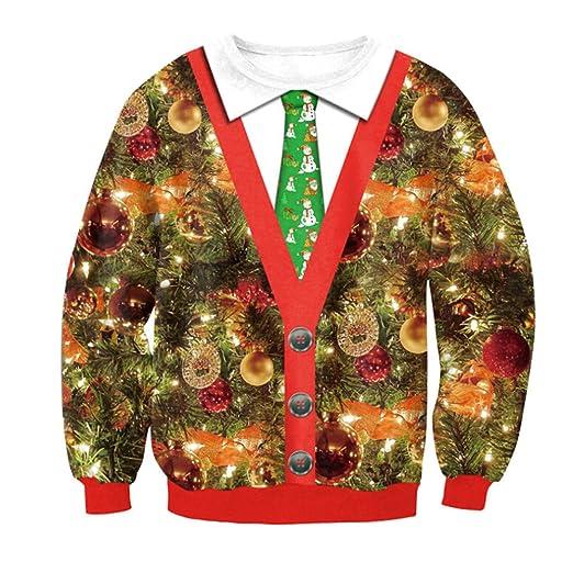 7c35c1edea9665 Women Christmas Shirt Plus Size Xmas Pullover Hoodies Long Sleeve Christmas  Light Print Tunic Crop Tops at Amazon Women's Clothing store: