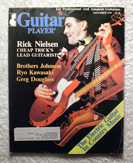Amazoncom Rick Nielsen Cheap Trick Guitar Player Magazine