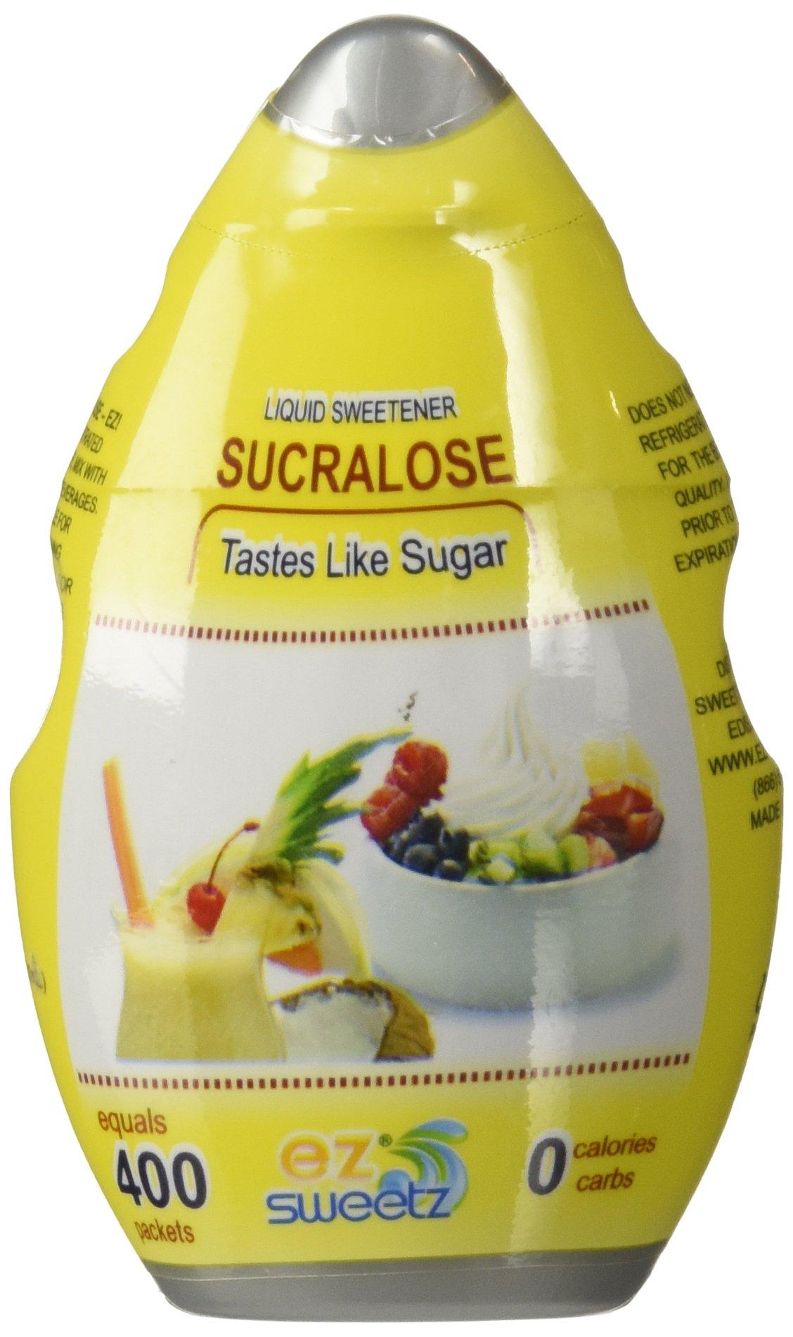 EZ-Sweetz (1.05oz - Liquid Sweetener 400 Servings/Bottle) by EZ-Sweetz
