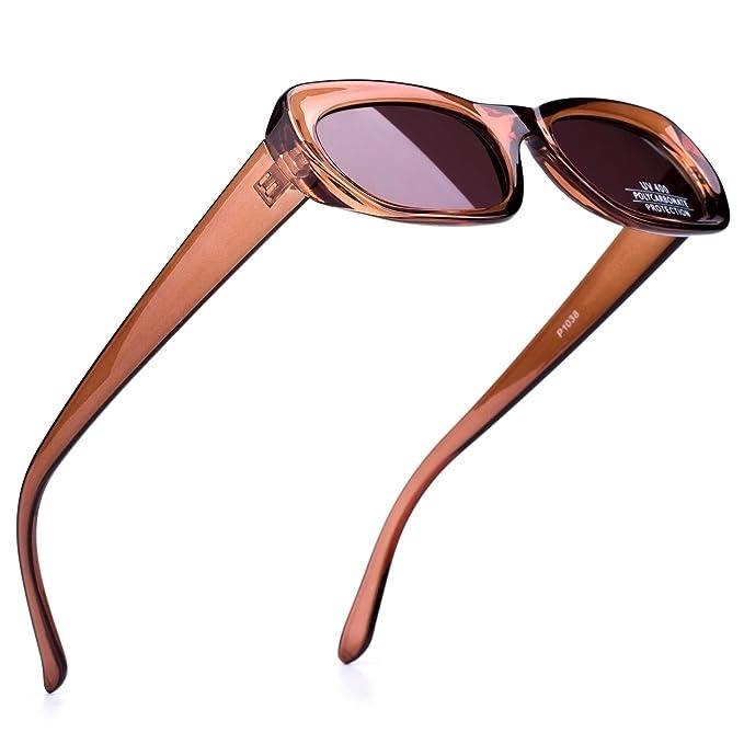 Amazon.com: Lanchie - Gafas de sol creativas y ligeras, para ...