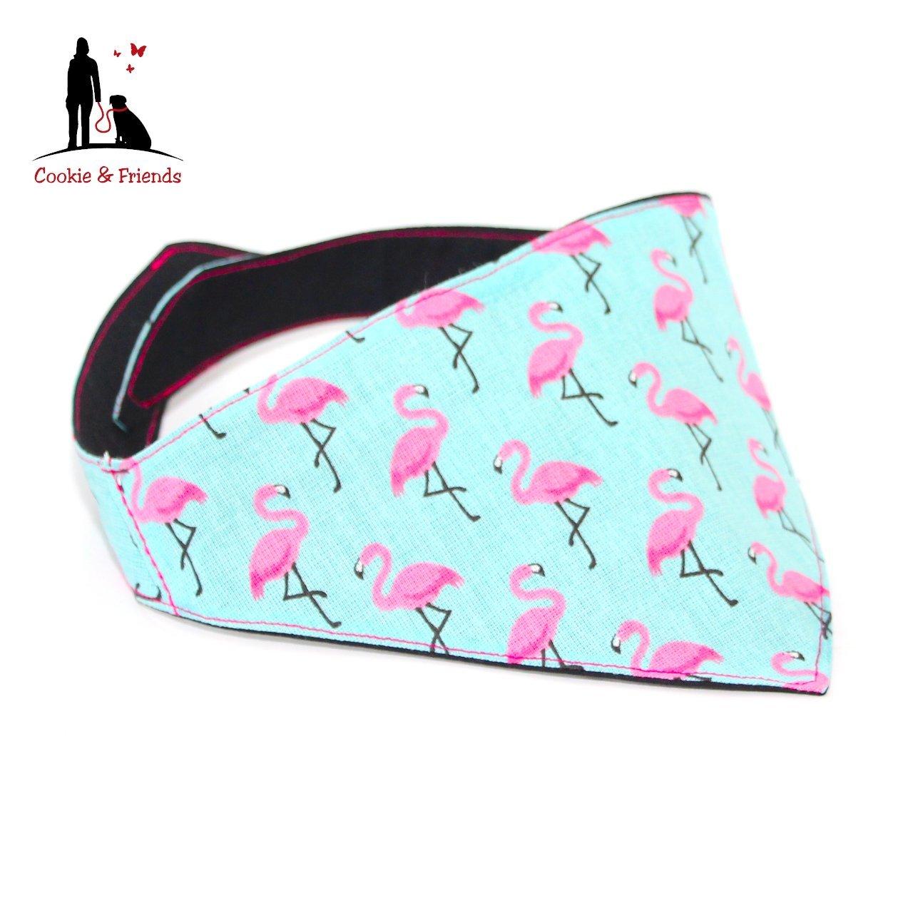 Hundehalstuch - Flamingo, Halstuch für Hunde, Hundeschal, Dog Bandana Halstuch für Hunde