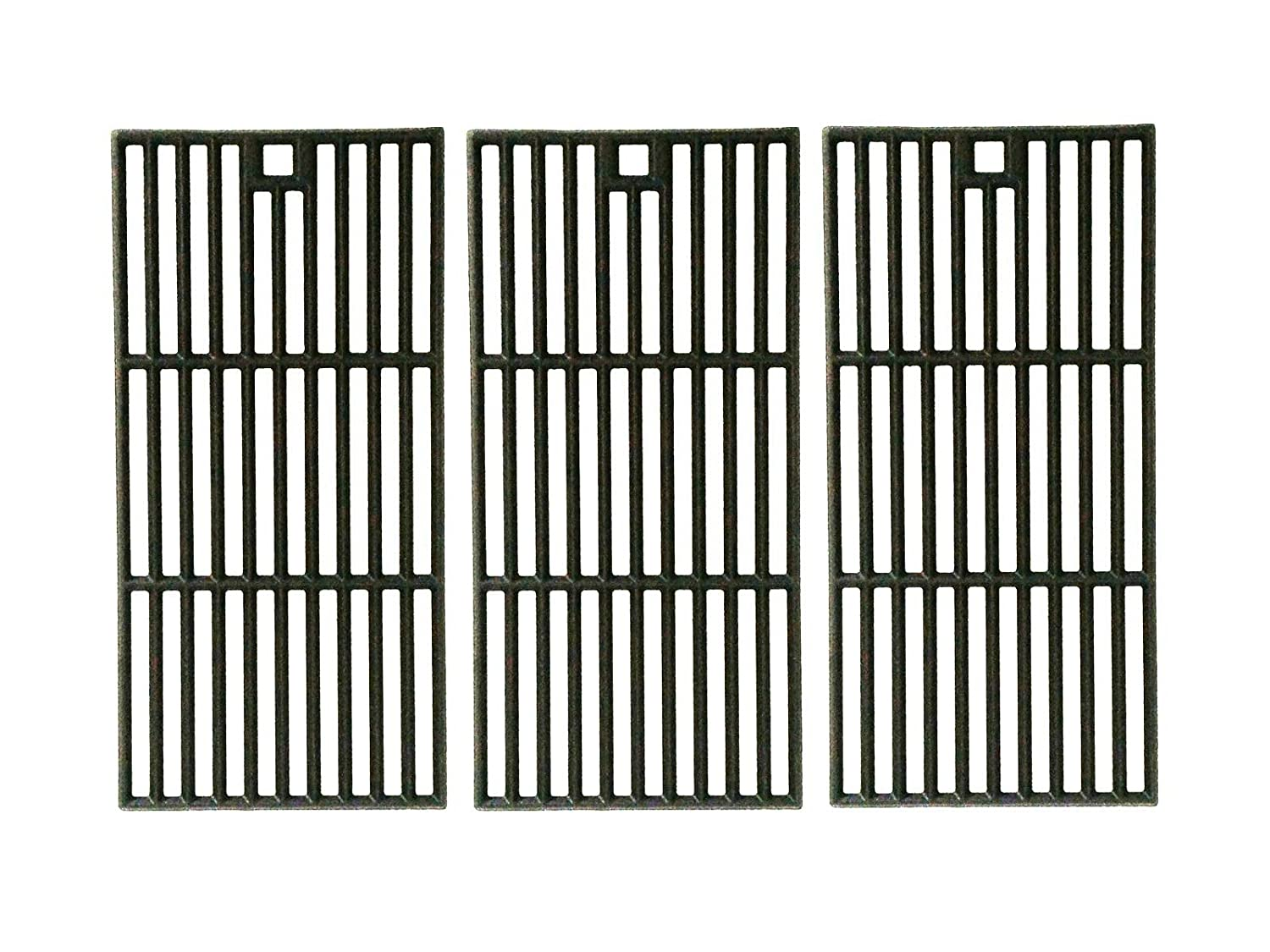 Cast Iron Cooking Grid Replacement for Broil-King, Centro, Charbroil, Kenmore 415.16123801, Coleman, Kirland, and Kmart 640-641215405 Gas Grill Models, Set of 3 bbqGrillParts
