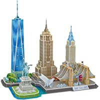 123Pcs CubicFun Newyork Cityline Architecture Building Model Kits Deals