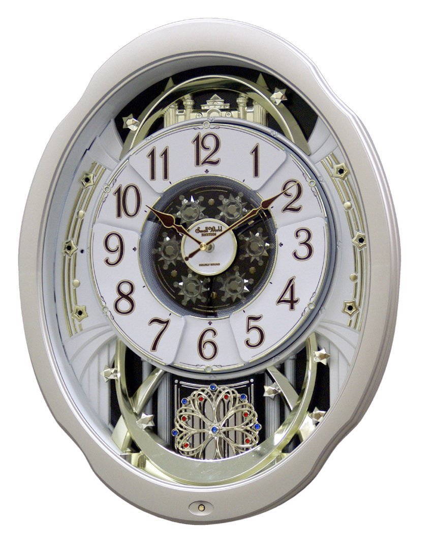 amazon com rhythm clocks marvelous wall clocks home u0026 kitchen