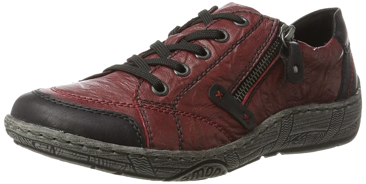 Remonte D3808, Derby Adria/Weiss Femme, Adria/Weiss Rouge Remonte (Schwarz/Wine Rouge 35) 49fa1aa - conorscully.space