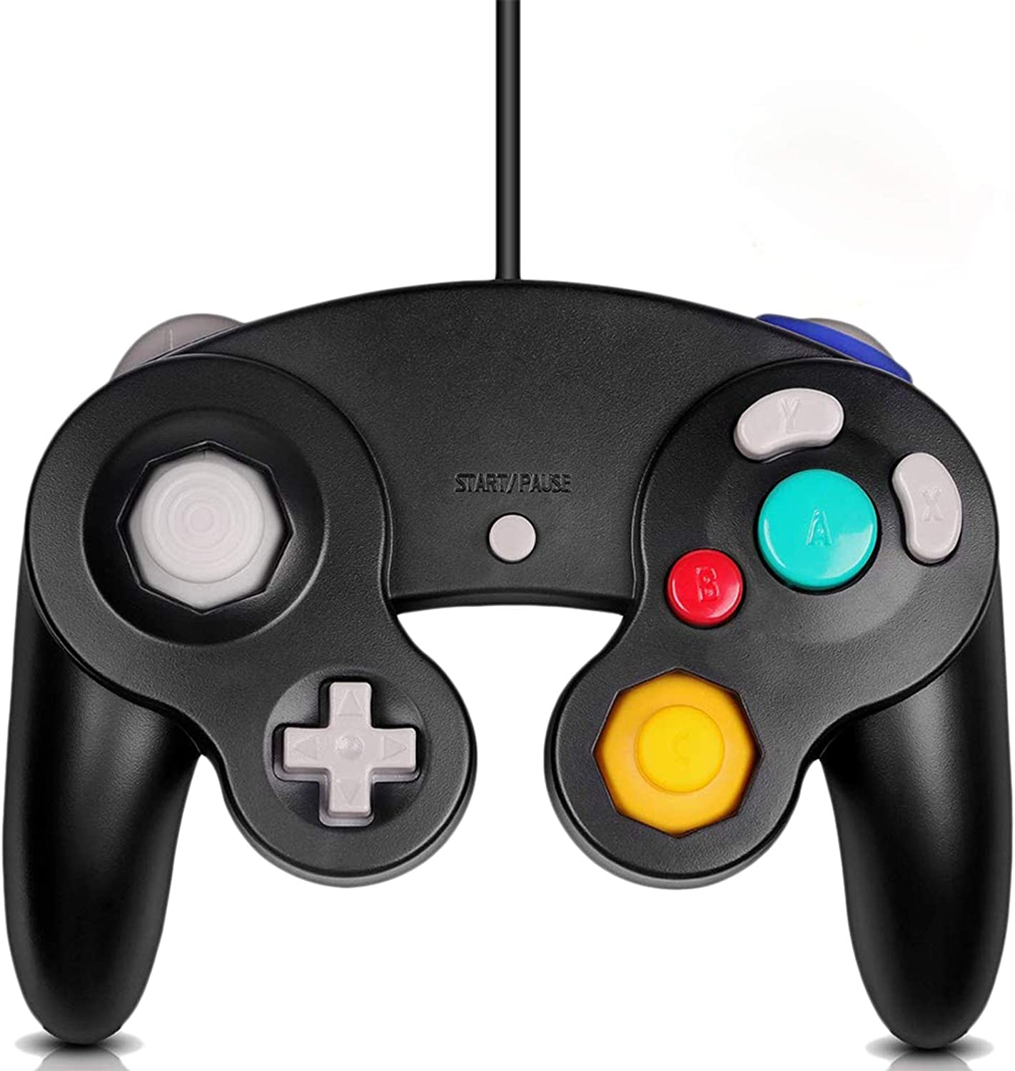 Gamecube Controller, Classic Wired Controller for Wii Nintendo Gamecube (Black)