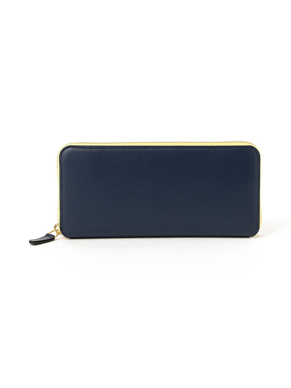(デミルクス ビームス) Demi-Luxe BEAMS/L'arcobaleno (ラルコバレーノ) 財布 ジップ ロングウォレット レディース B07BMMGFBJネイビー One Size