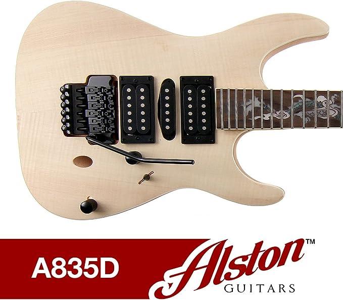 [SCHEMATICS_48YU]  Amazon.com: Alston Guitars - DIY Electric Guitar Kit | Bolt On | Solid  Mahogany Body & Neck Flamed Maple Veneer: Musical Instruments | Alston Guitars Kit Wiring Diagram |  | Amazon.com