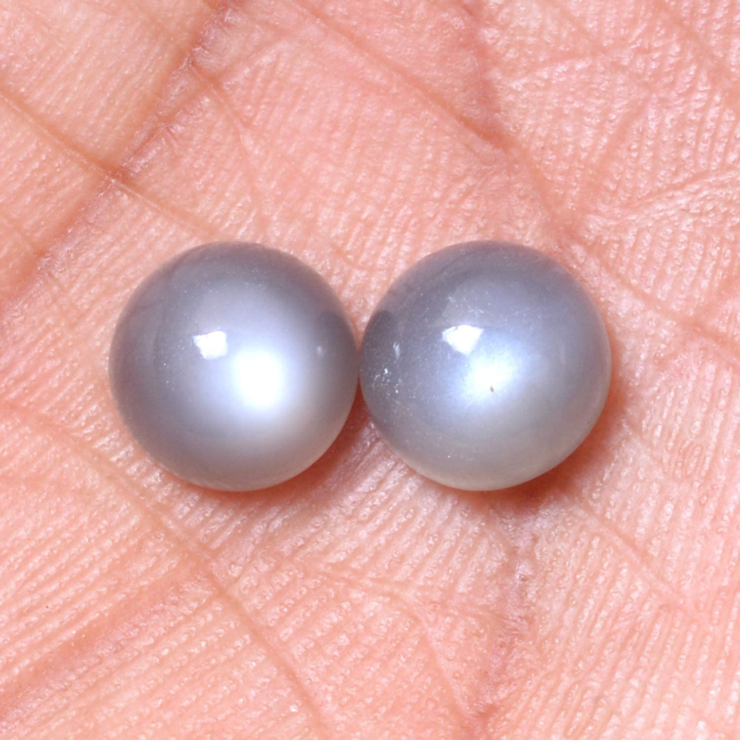 8-10 MM Size Best High Quality Gemstone For Making Jewelry. Natural Siloni Moonstone Gemstone Smooth Round Shape Cabochon