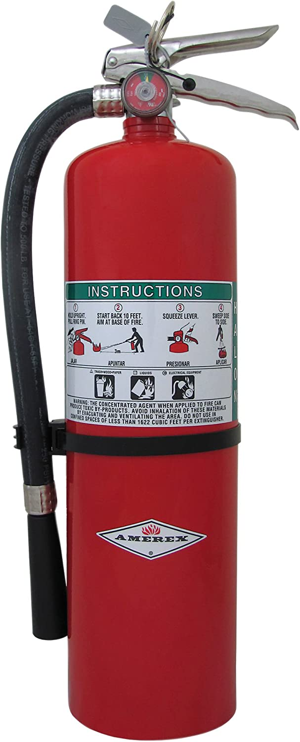 Fire Extingshr, Dry Chemical, 10A:120B:C