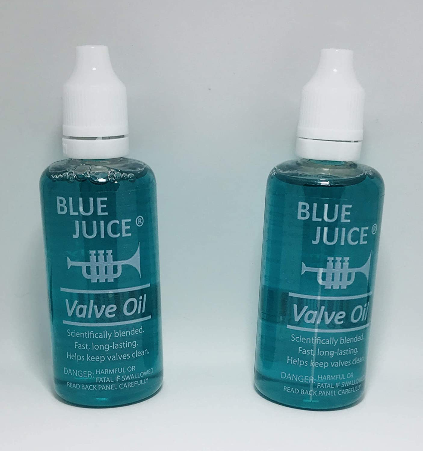 Blue Juice 2 Fluid Oz. Trumpet Valve Oil 2 Pack