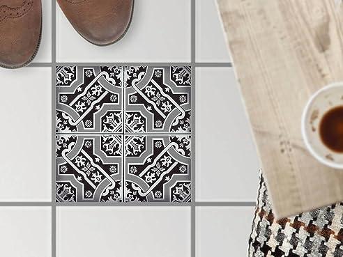 Mosaikfliesen Fußboden Dekorsticker | Fliesen Aufkleber Folie ...