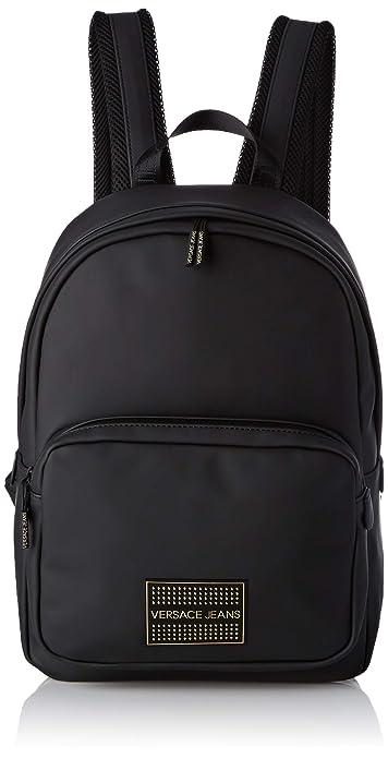 3e98794380 Versace Jeans Bag, Zaino Uomo, (Nero), 13,5x39x27,5 cm (W x H x L ...