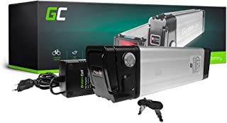 GC® EBIKE Batteria 24V 27.2Ah Bicicletta Elettrica Silverfish con Celle Panasonic Li-Ion e Caricabatterie WILD E-Lux Ansmann Pegasus