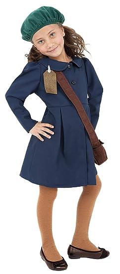ad84622b24bc Amazon.com  Smiffy s World War Ii Evacuee Girl Fancy Dress Costume ...