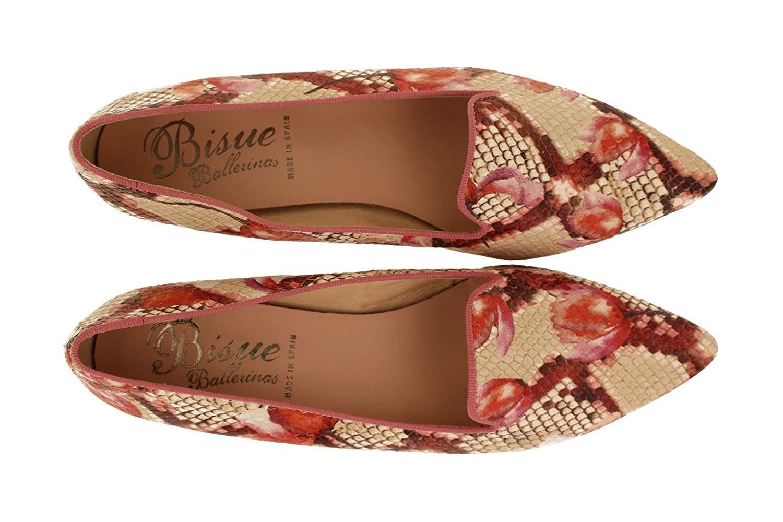 BISUE BISUE BISUE BALLERINAS , Damen Ballerinas Beige Fuchsia - 36798f