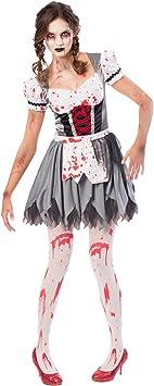 Generique - Disfraz Oktoberfest Zombie Mujer M: Amazon.es ...