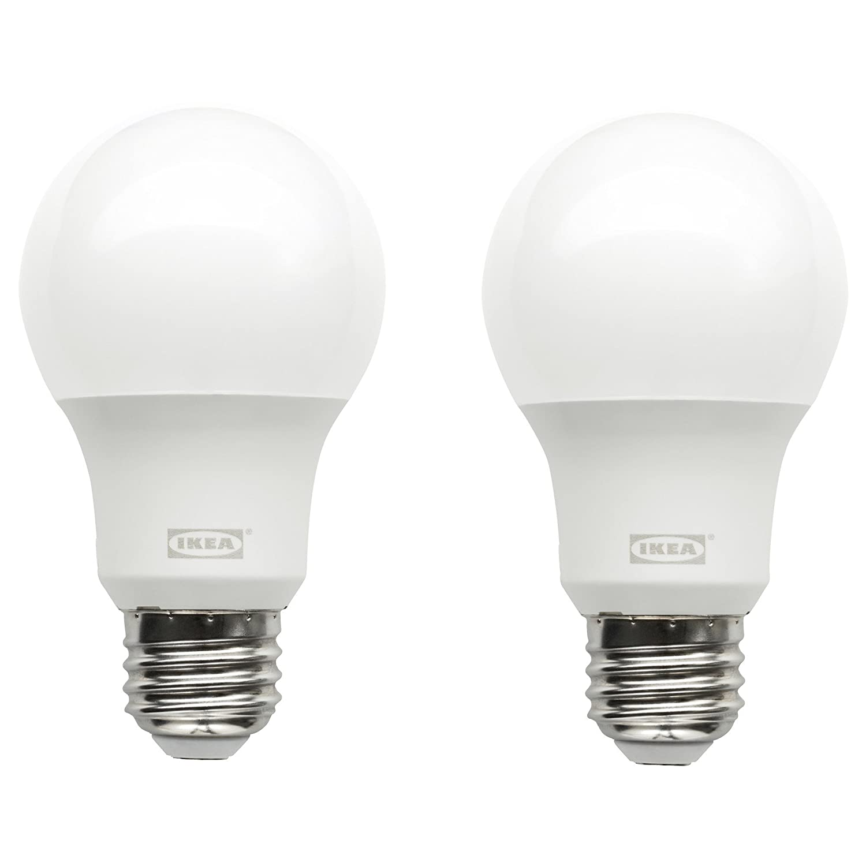 Bathroom light bulb types - Amazon Com Ikea E26 Led Light Bulb 400 Lumen 2 Pack Home Improvement
