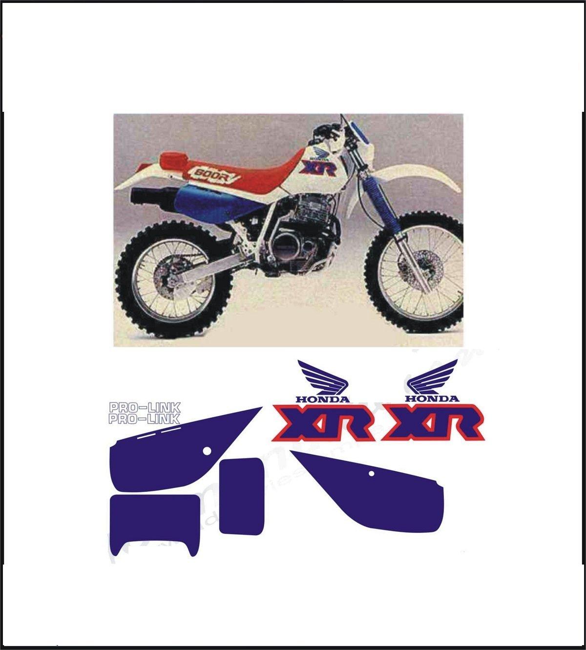 Kit adesivi decal stikers honda xr 600 r 1991