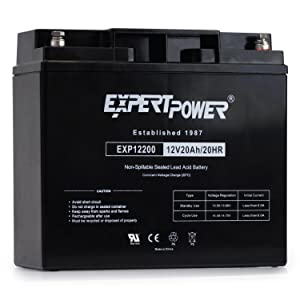 ExpertPower EXP12200 12V 20AH Lead_Acid_Battery