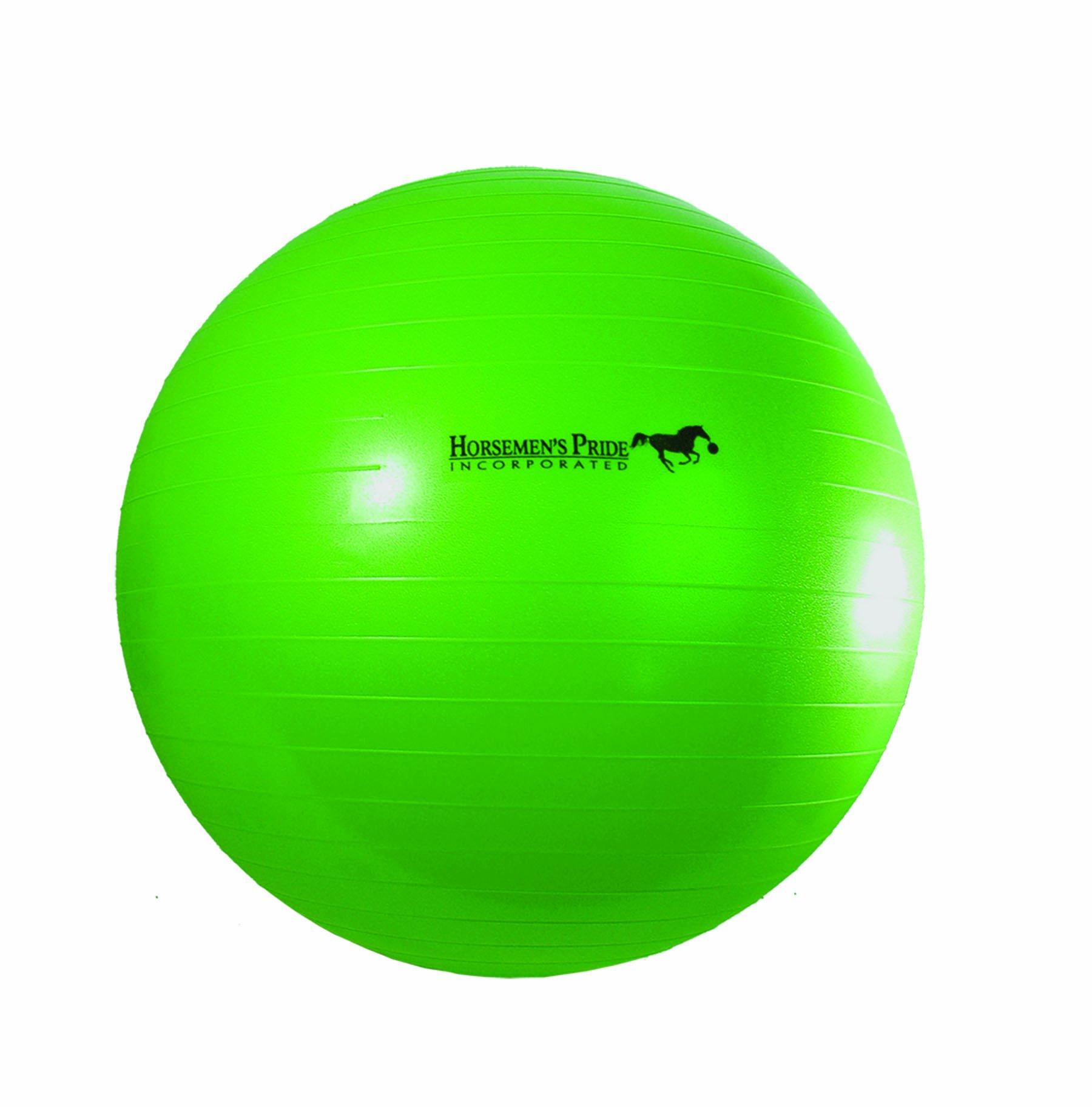 Horsemen's Pride 40-Inch Mega Ball for Horses, Green
