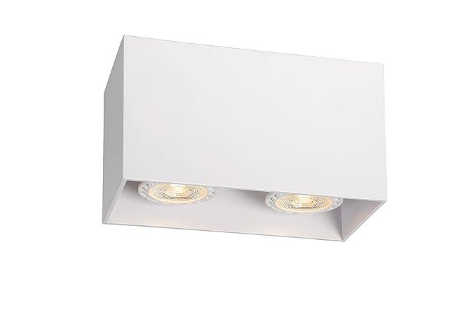 Plafoniera Rettangolare Led : Lucide bodi plafoniera rettangolare per lampadine