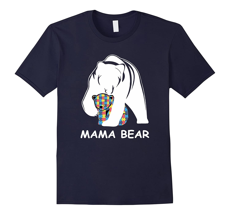 Mama Bear Morthers Day Family TShirt-Vaci
