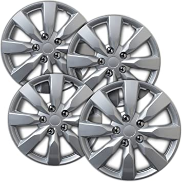 Amazon.com: Hubcaps 16 inch Wheel Covers - (Set of 4) Hub Caps for ...