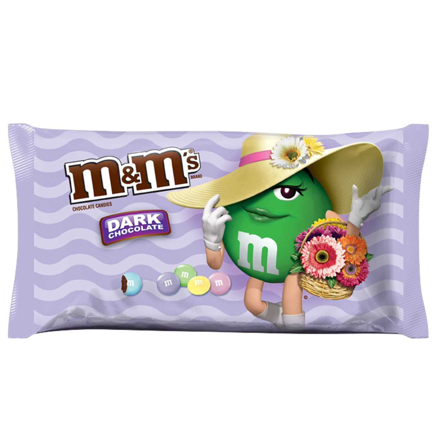 M&M's Dark Chocolate Candy Easter Blend, 10.8 Ounce