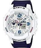 Casio Baby-G BGA230SC-7B Shock Resistant White Blue Womens Watch