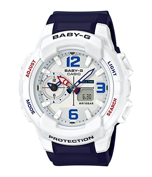 Casio Baby-G bga230sc-7b resistente color blanco azul para ...