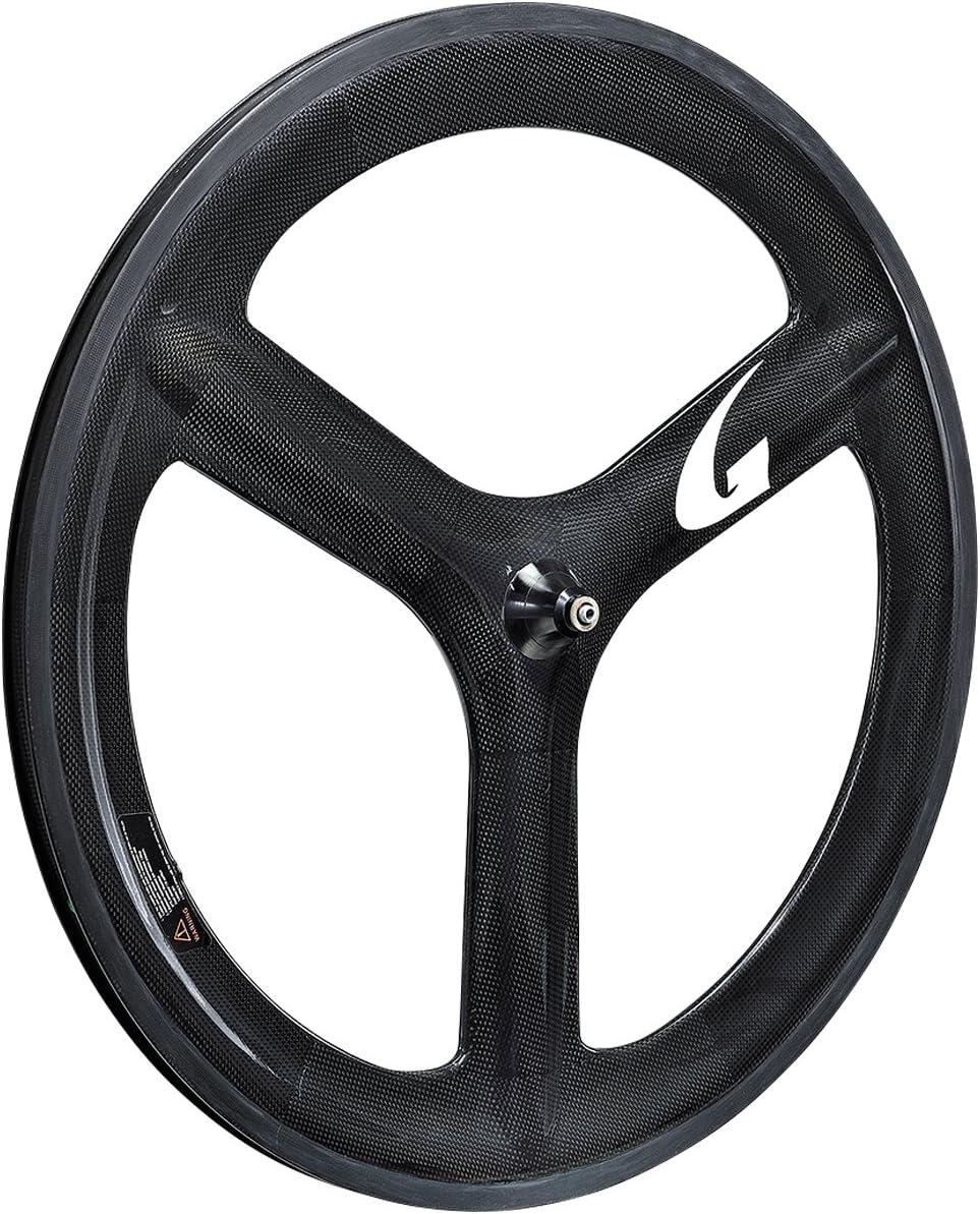 gan well(ガンウェル) カーボンクリンチャーバトンホイール 700C/WO ロード用 リムハイト:66mm タイムトライアル/トライアスロンに最適  5バトン