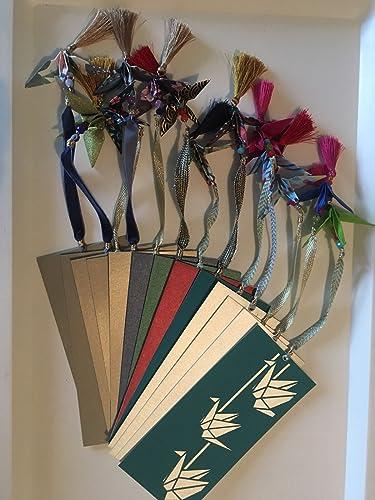 Amazon.com: Origami Crane Bookmark: Handmade