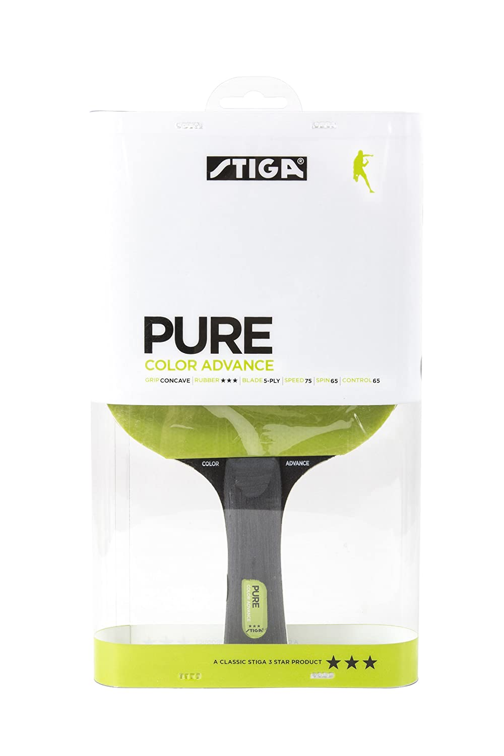 Buy STIGA Pure Color Advance Table Tennis Racket Online At Low Prices In  India   Amazon.in