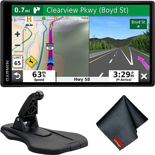 Garmin DriveSmart 55 W Traffic 5.5 Display GPS Navigator Friction Dash Mount