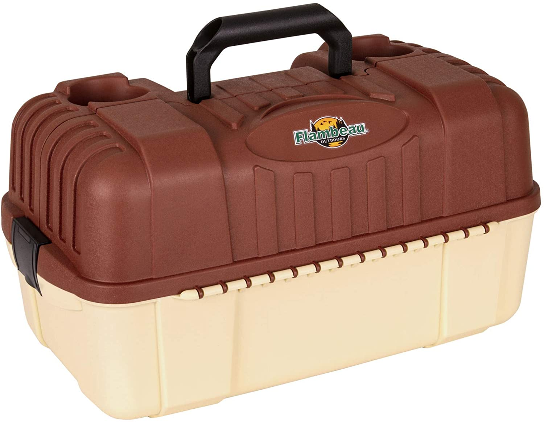 Fishing Tackle Box Bait Storage Case 7 Tray Plano Lures Hip Roof Organizer Hooks